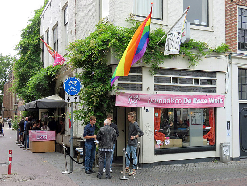 Gay café Kalff in Utrecht